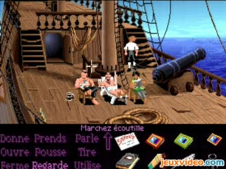 The Secret of Monkey Island : En route vers l'île aux Singes