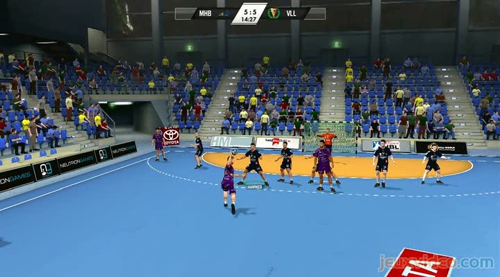 gaming live ihf handball challenge 12 montpellier vs. Black Bedroom Furniture Sets. Home Design Ideas