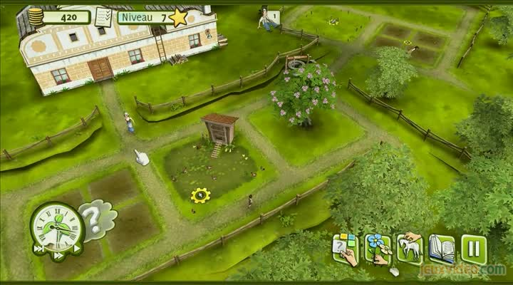 gaming live family farm simulator 2011 une visite la ferme. Black Bedroom Furniture Sets. Home Design Ideas