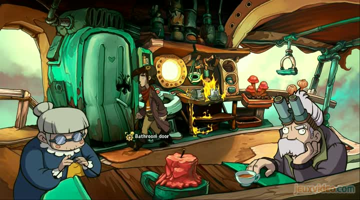 gaming live chaos on deponia un point and click bourr d 39 humour. Black Bedroom Furniture Sets. Home Design Ideas