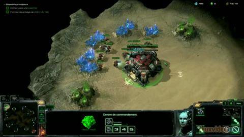 Starcraft II : Heart of the Swarm : Le mode Entraînement : Fait pour les débutants