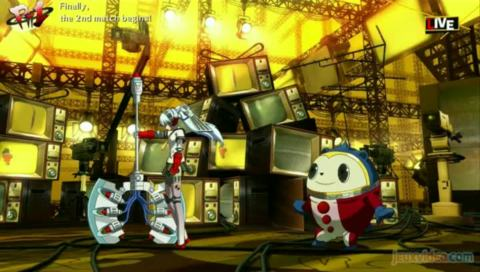 Persona 4 : Arena : Un joyeux bazar