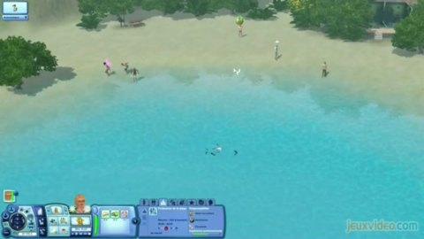 Les Sims 3 : Ile de Rêve : Petit tour au paradis