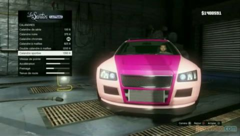 Grand Theft Auto V : 8/10 : Personnalisations diverses (tuning, tatoueur...)