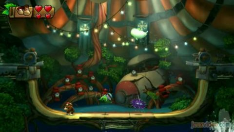 Donkey Kong Country : Tropical Freeze : Le level design au service de la plate-forme