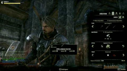 The Elder Scrolls Online : 2/3 : Balade en ville et artisanat