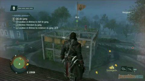 Assassin's Creed Rogue : 1/2 : Les nouveautés sur la terre ferme