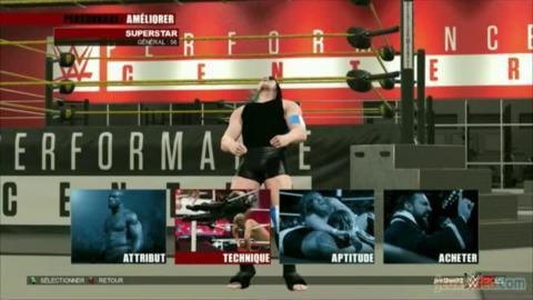 WWE 2K15 : 2/2 : Un contenu amputé