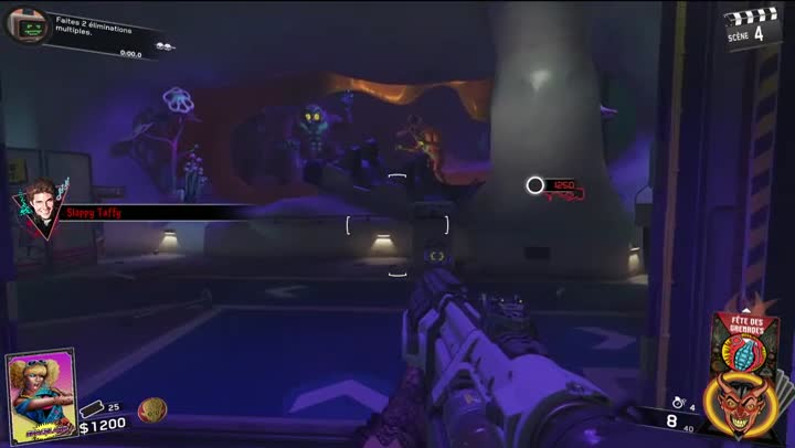 Gaming Live CoD : Infinite Warfare : Zombies In Spaceland