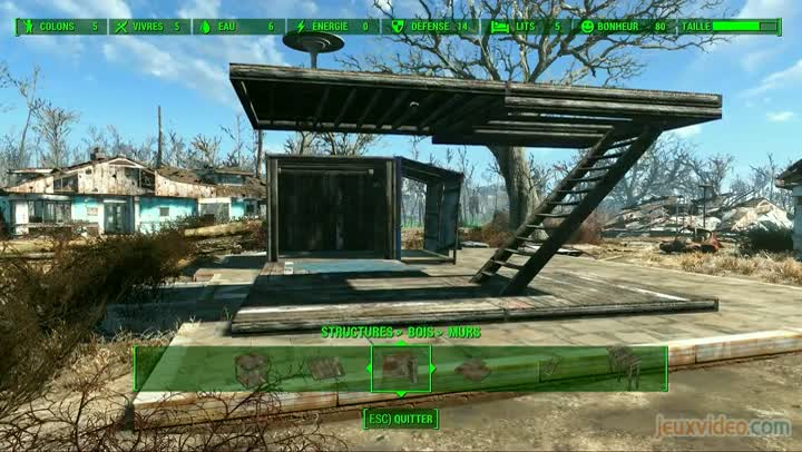 Gaming live fallout 4 craft et construction 4 4 - Jeux de construction maison ...