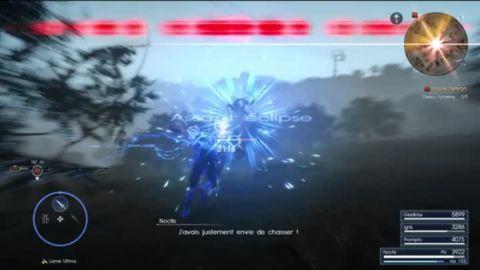 Final Fantasy XV : Le système de combat, avec une invocation en prime