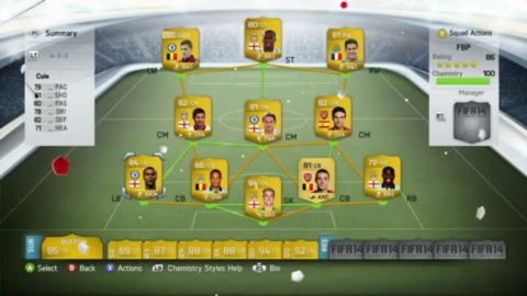 FIFA 14 : FIFA Ultimate Team : Les nouveautés