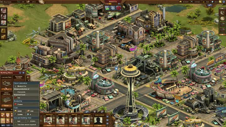 Making-of Forge of Empires : Tutoriel construction des bâtiments ...