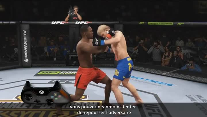 how to play 2 player ufc ps4