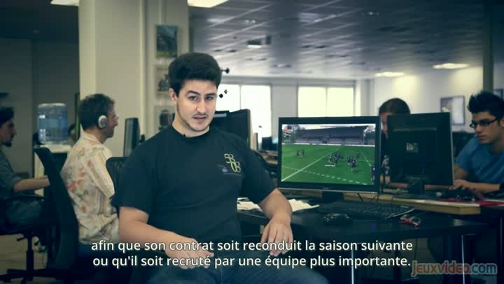 making of pro rugby manager 2015 le retour du jeu de. Black Bedroom Furniture Sets. Home Design Ideas