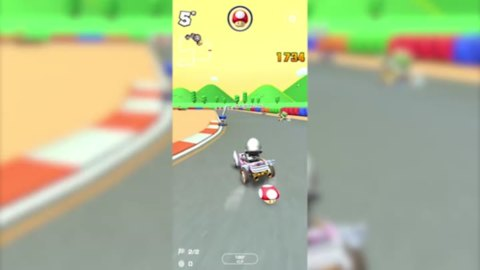 Mario Kart Tour : raccourci Circuit Mario 2 (2)