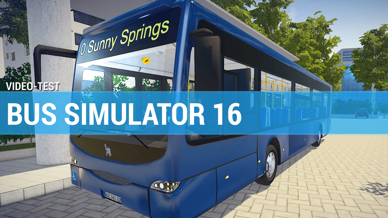 test bus simulator 2016 en vid o. Black Bedroom Furniture Sets. Home Design Ideas