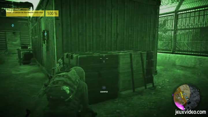 gameplay ghost recon wildlands un vol de camion en toute discr tion. Black Bedroom Furniture Sets. Home Design Ideas