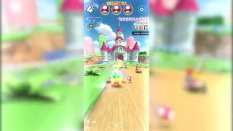 Mario Kart Tour : raccourci Circuit Mario (3)