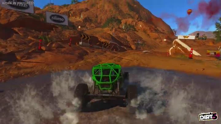 DiRT 5 montre du gameplay pour le mode Path Finder