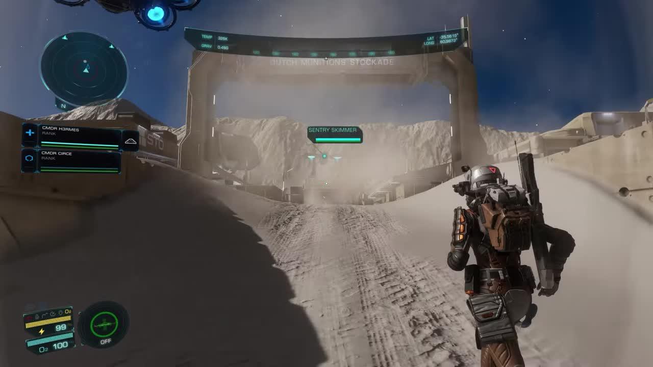 Elite Dangerous : Odyssey montre ses phases de shoot dans une longue vidéo