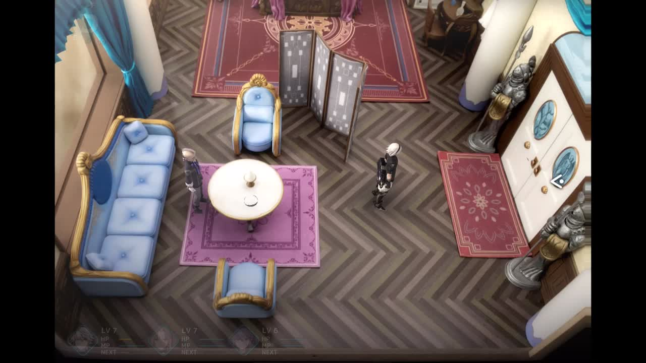 Gameplay Fantasian : Un serpent pas très commode