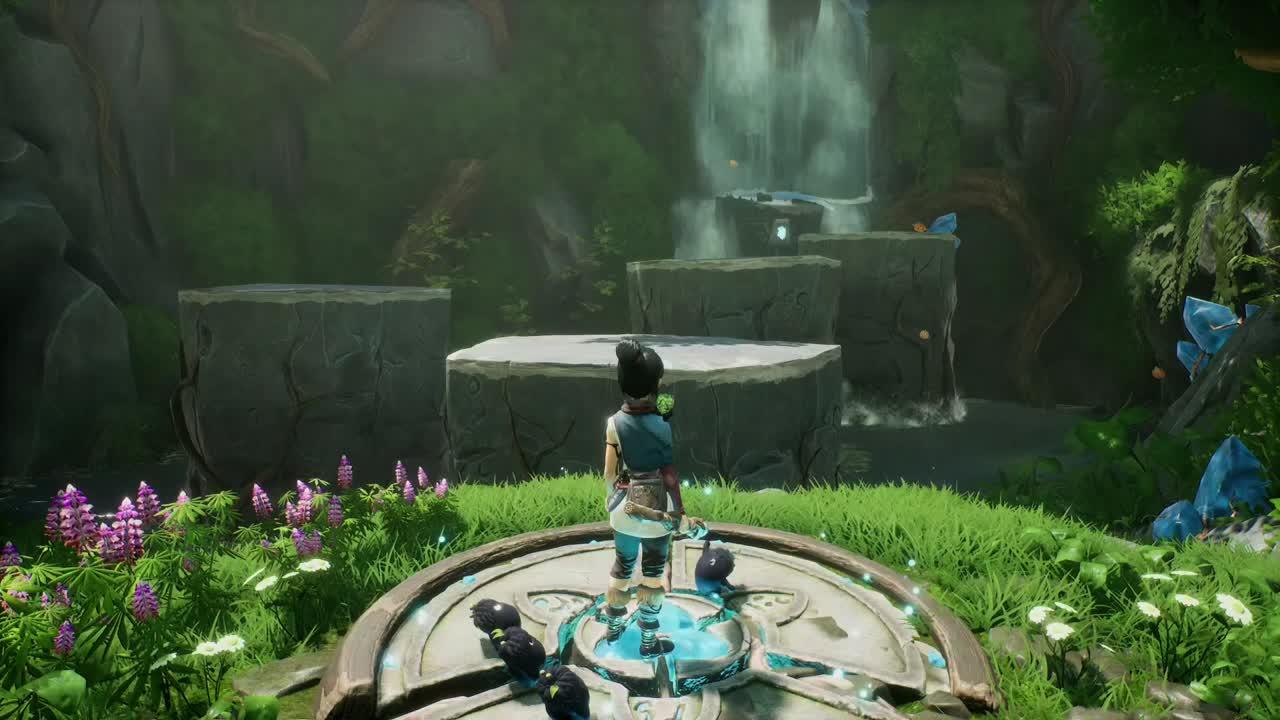 Gameplay Kena Bridge of Spirits PS5 : découvrez le début du jeu en 60fps - jeuxvideo.com - jeuxvideo.com