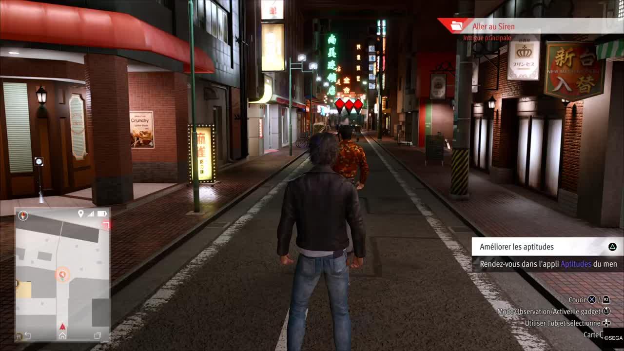 """Lost Judgment : Une """"simple"""" balade dans le quartier d'Isezaki Ijincho"""