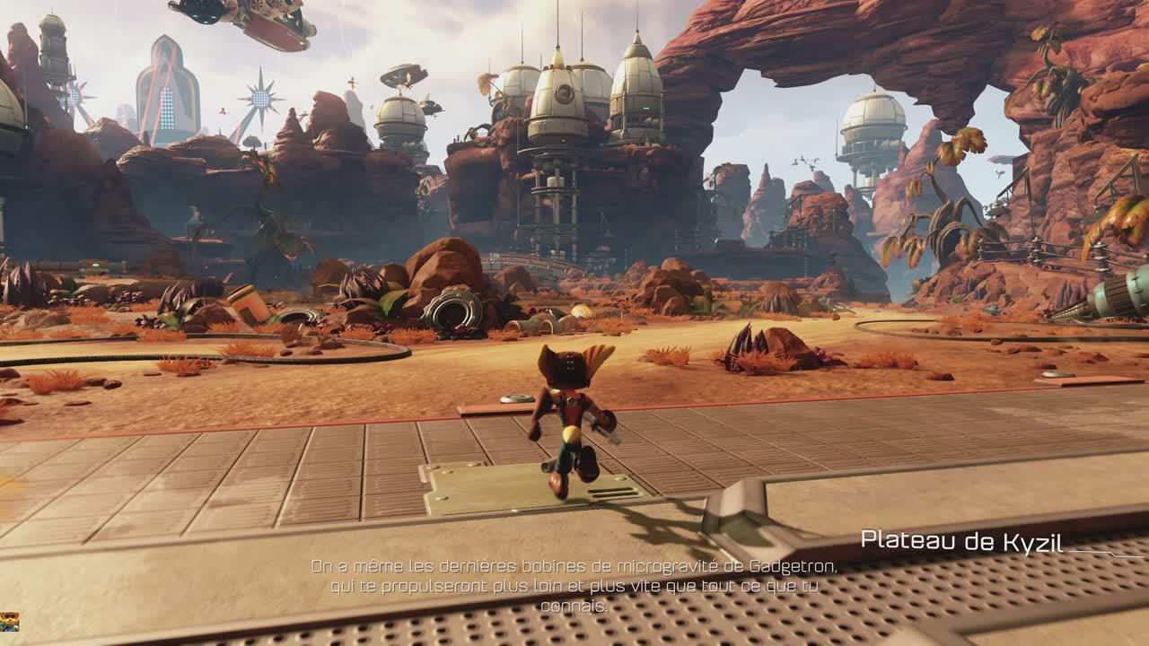 Ratchet & Clank : 15 minutes de gameplay à 60 FPS