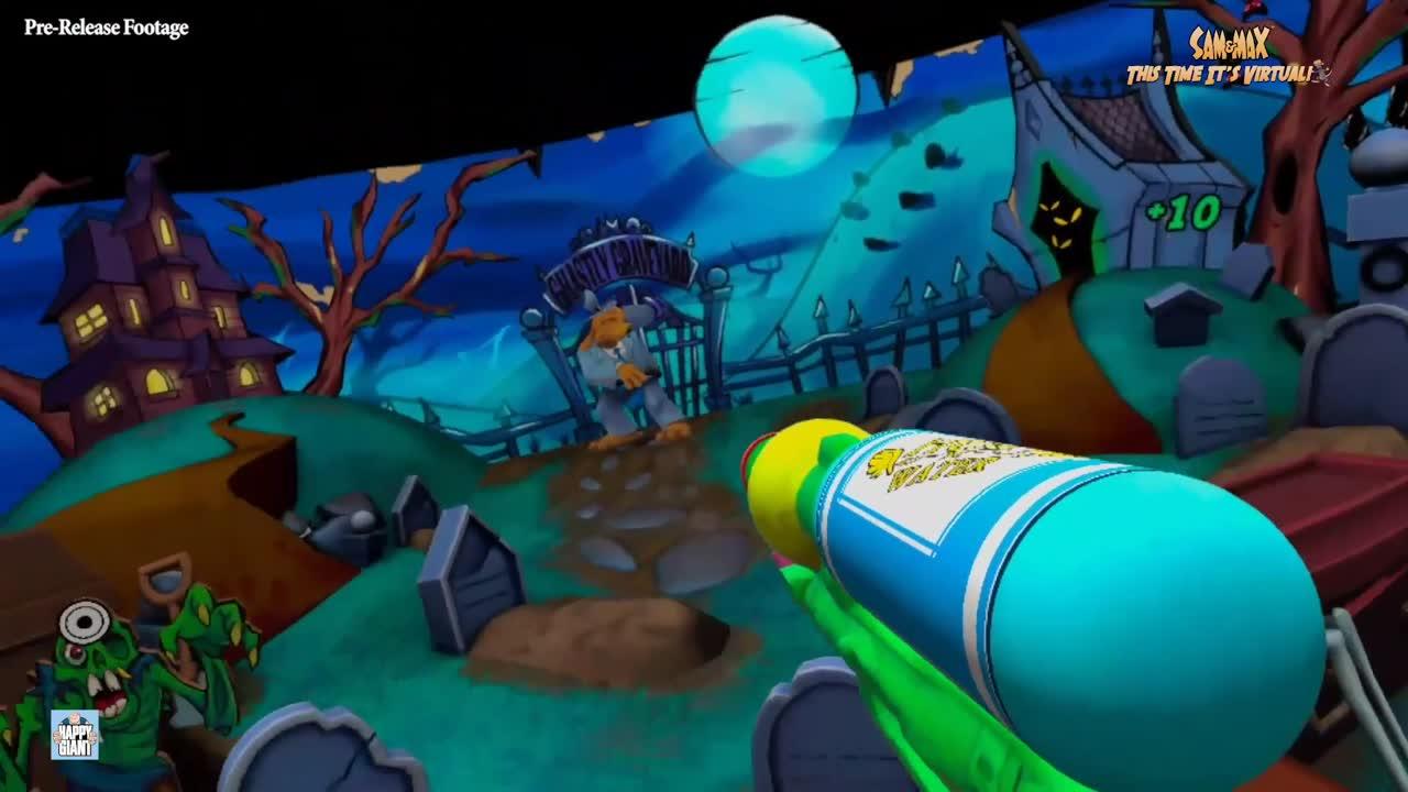 Sam & Max This Time It's Virtual : quatre minutes de gameplay pour le jeu VR