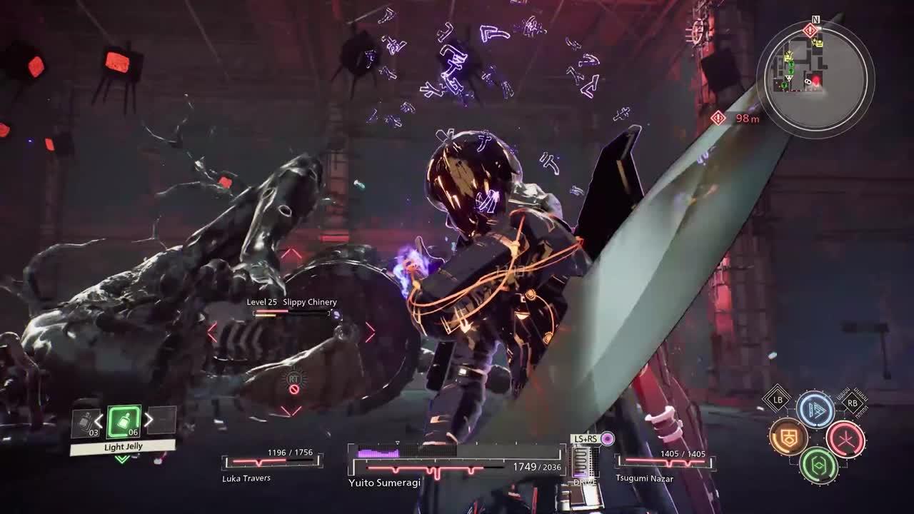 Gameplay SCARLET NEXUS : Quand les monstres envahissent un vieil hôpital