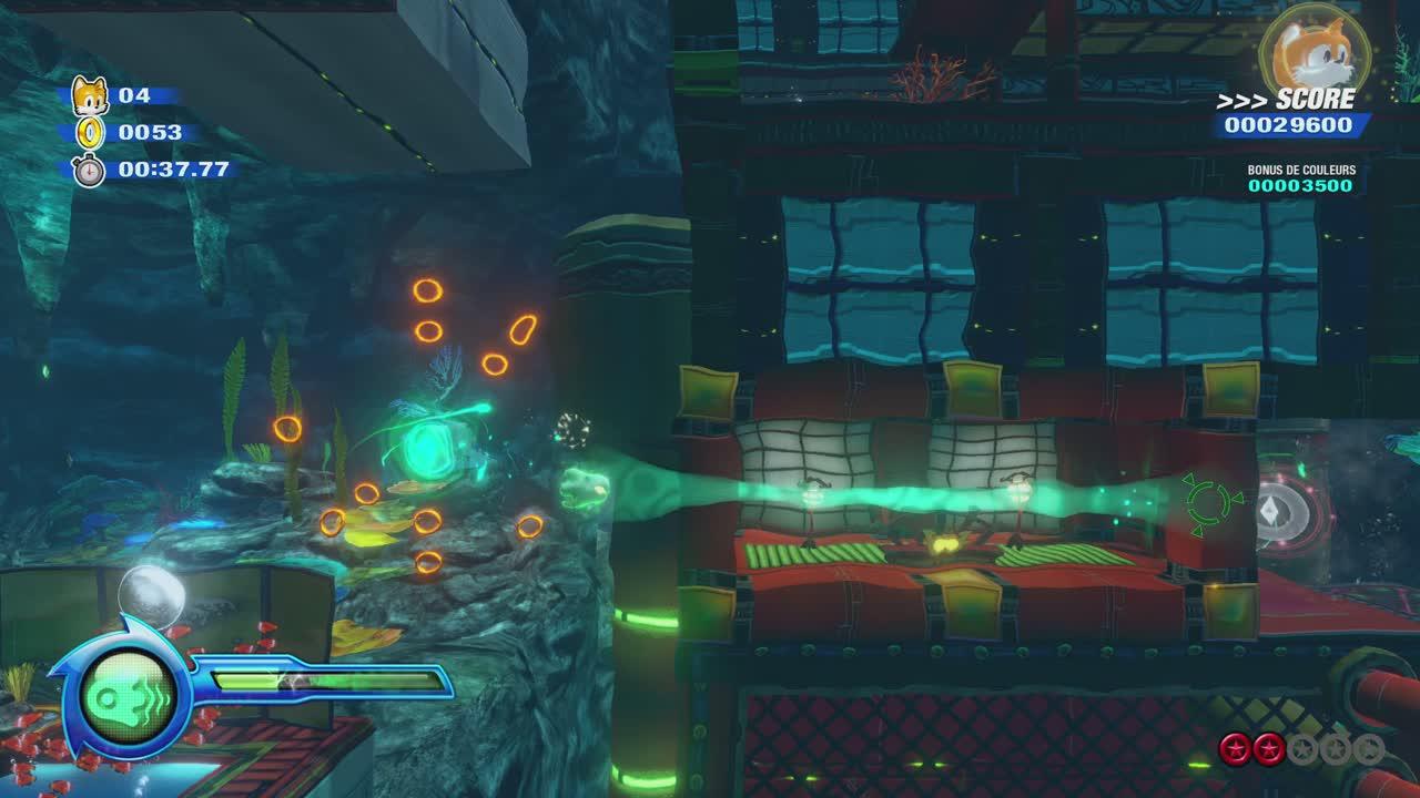 Sonic Colours : Ultimate – Niveau sous l'eau et nouveau Wisp