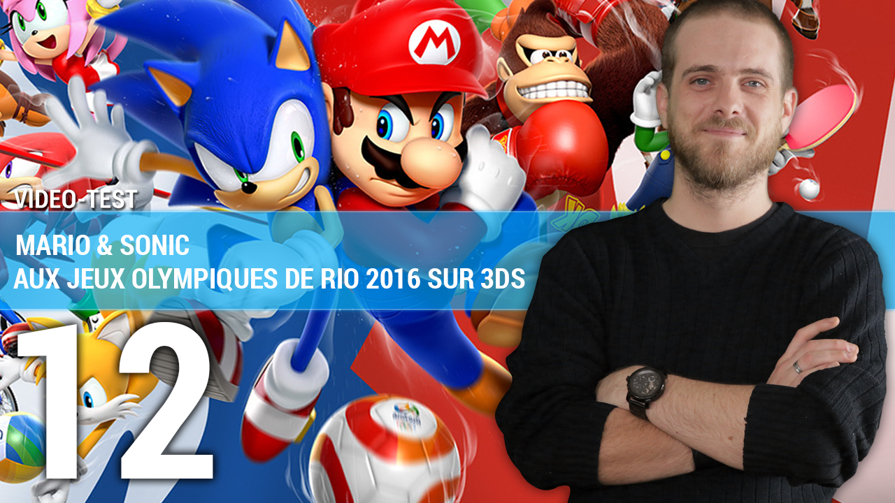 test mario sonic aux jeux olympiques de rio 2016 sur 3ds en vid o. Black Bedroom Furniture Sets. Home Design Ideas