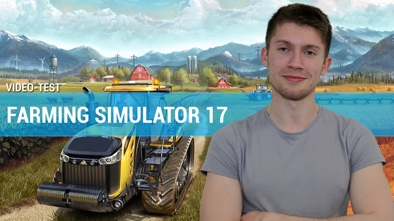 test farming simulator 17 en vid o. Black Bedroom Furniture Sets. Home Design Ideas