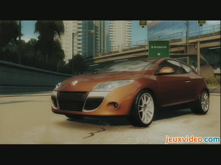 bande annonce need for speed undercover m gane coup. Black Bedroom Furniture Sets. Home Design Ideas