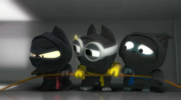 bande annonce ninja captains mission impossible. Black Bedroom Furniture Sets. Home Design Ideas
