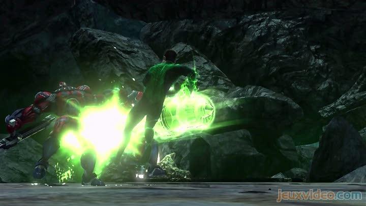 bande annonce green lantern la r 233 volte des manhunters c est fou ce qu on peut faire avec une