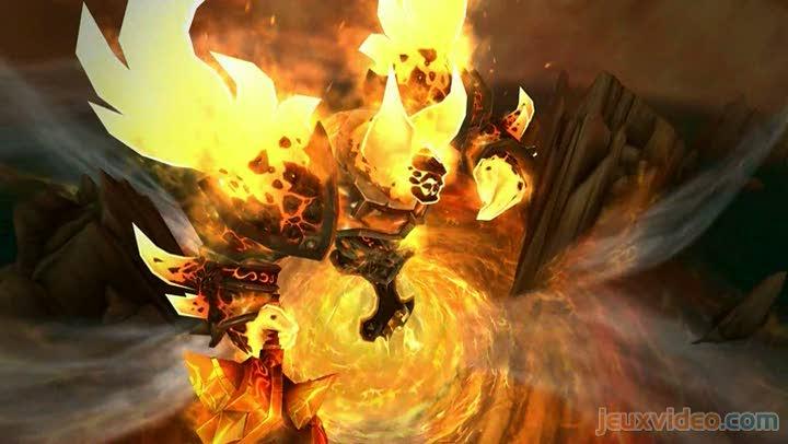 Bande annonce world of warcraft cataclysm patch 4 2 rage sur les terres de feu - World of warcraft sur console ...
