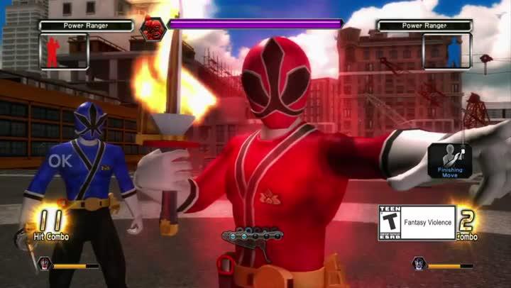 Bande annonce power rangers super samurai le pouvoir des - Jeux de power rangers super samurai ...