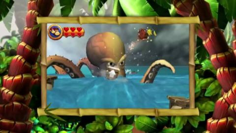 Donkey Kong Country Returns 3D : Donkey Kong prend du volume
