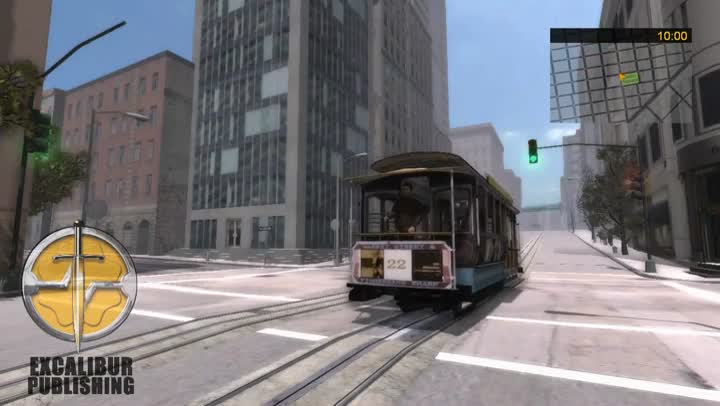 bande annonce bus cable car simulator san francisco dans les rues de san francisco. Black Bedroom Furniture Sets. Home Design Ideas