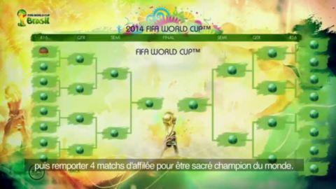 Coupe du Monde de la FIFA : Brésil 2014 : Les modes de jeu