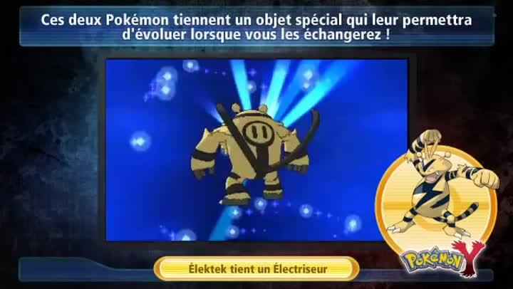 Bande annonce pok mon x magmar et elektek - Pokemon elektek ...