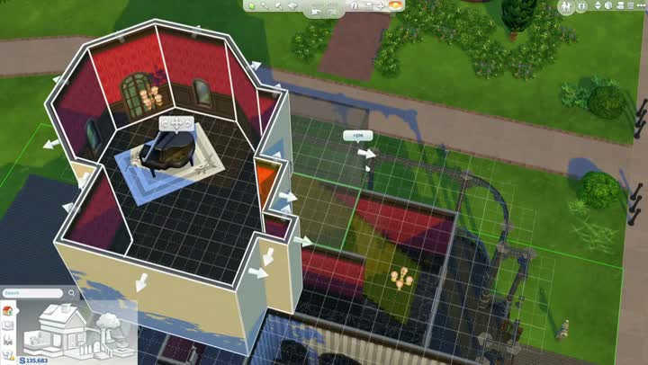 bande annonce les sims 4 le mode construction. Black Bedroom Furniture Sets. Home Design Ideas