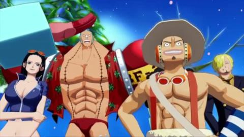One Piece Unlimited World Red : Trailer de lancement
