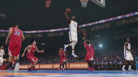"NBA 2K15 : Trailer ""Momentous"""