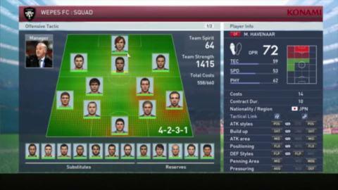 Pro Evolution Soccer 2015 : Les nouveaux modes