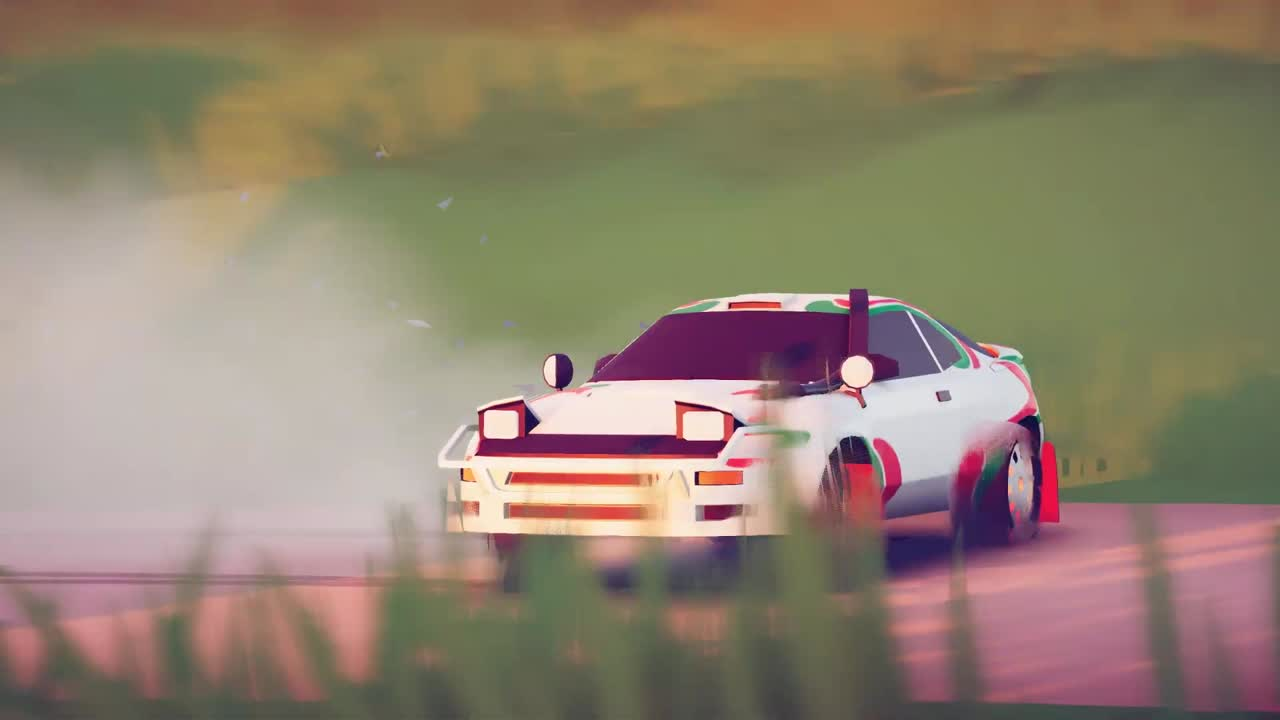 Bande-annonce Art of Rally également annoncé sur PS5 et PS4