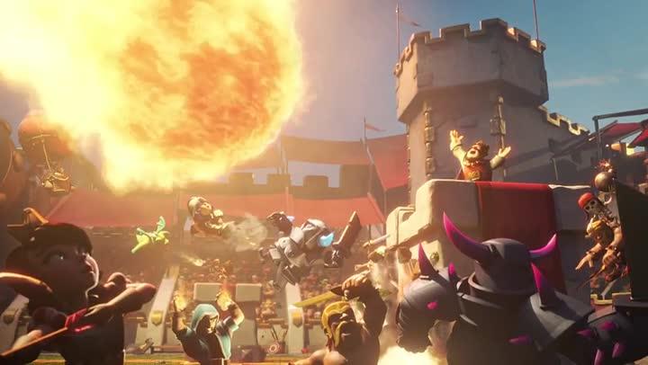Bande Annonce Clash Royale Sur Un Air De Queen Jeuxvideo Com
