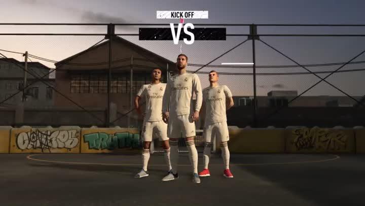 Bande,annonce FIFA 20  les joueurs sont dans les rues avec